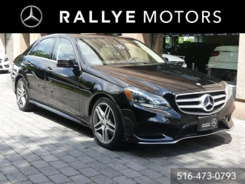 Certified Pre-Owned 2015 Mercedes-Benz E 350 Sport AWD 4MATIC®