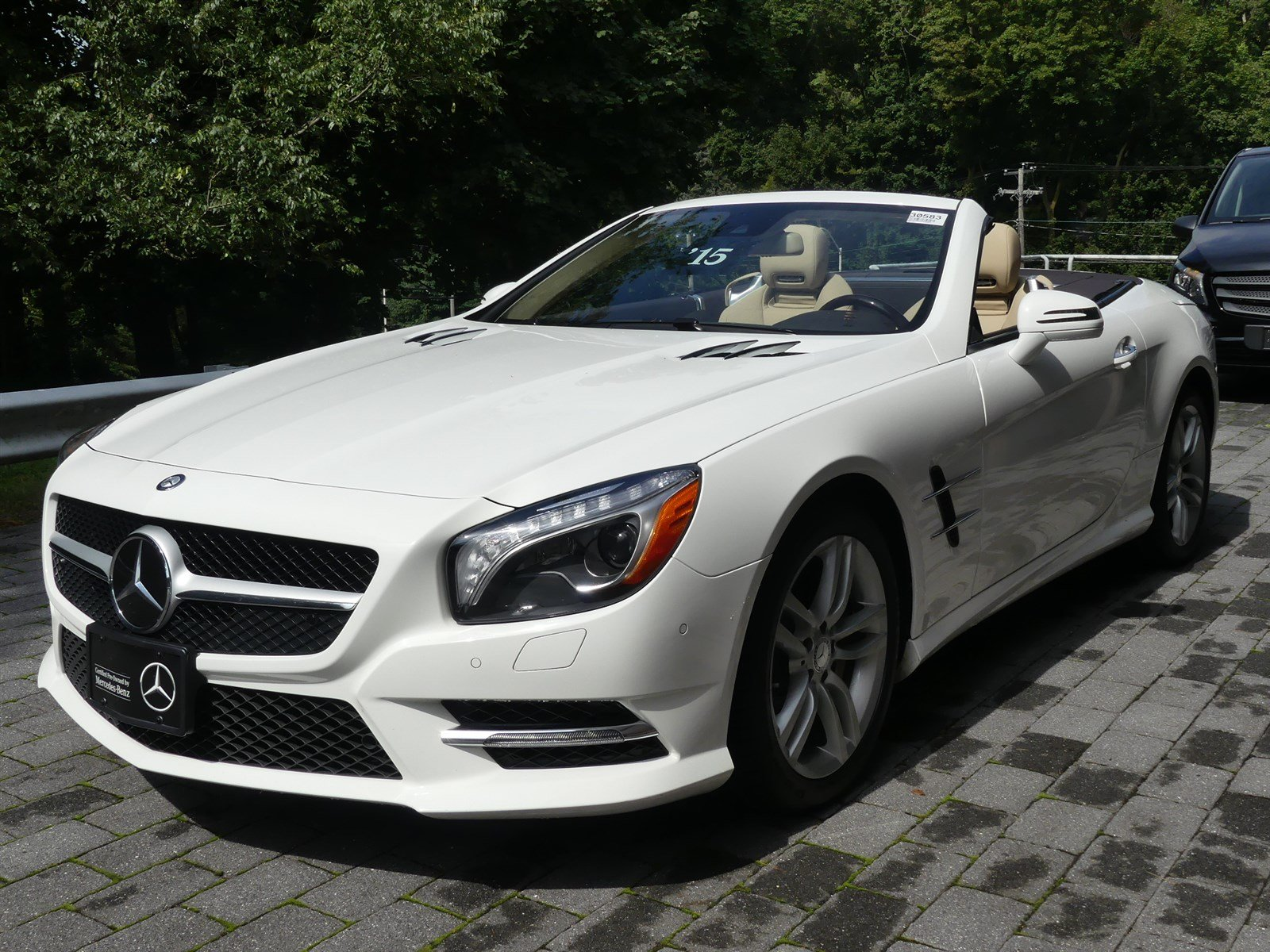 Certified Pre-Owned 2015 Mercedes-Benz SL SL 550