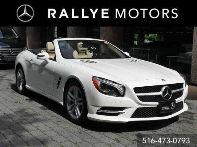 Certified Pre Owned 2015 Mercedes Benz SL SL 550