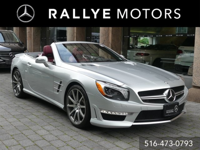 Certified Pre-Owned 2016 Mercedes-Benz SL AMG® SL 63