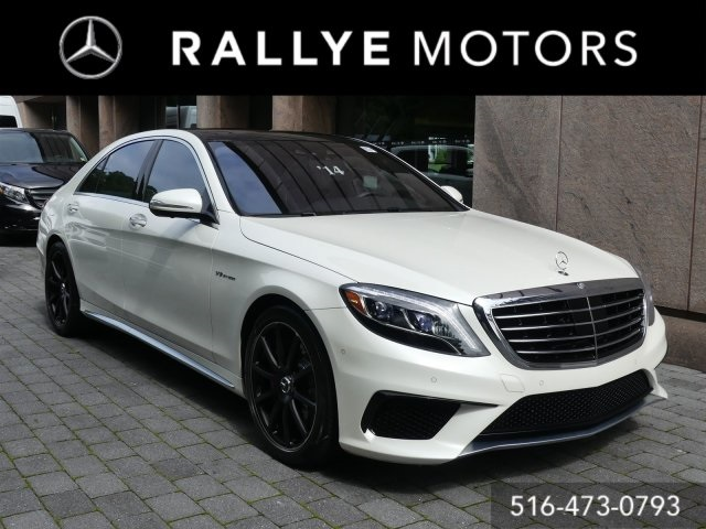 Certified Pre Owned 2014 Mercedes Benz S Class AMG® S 63