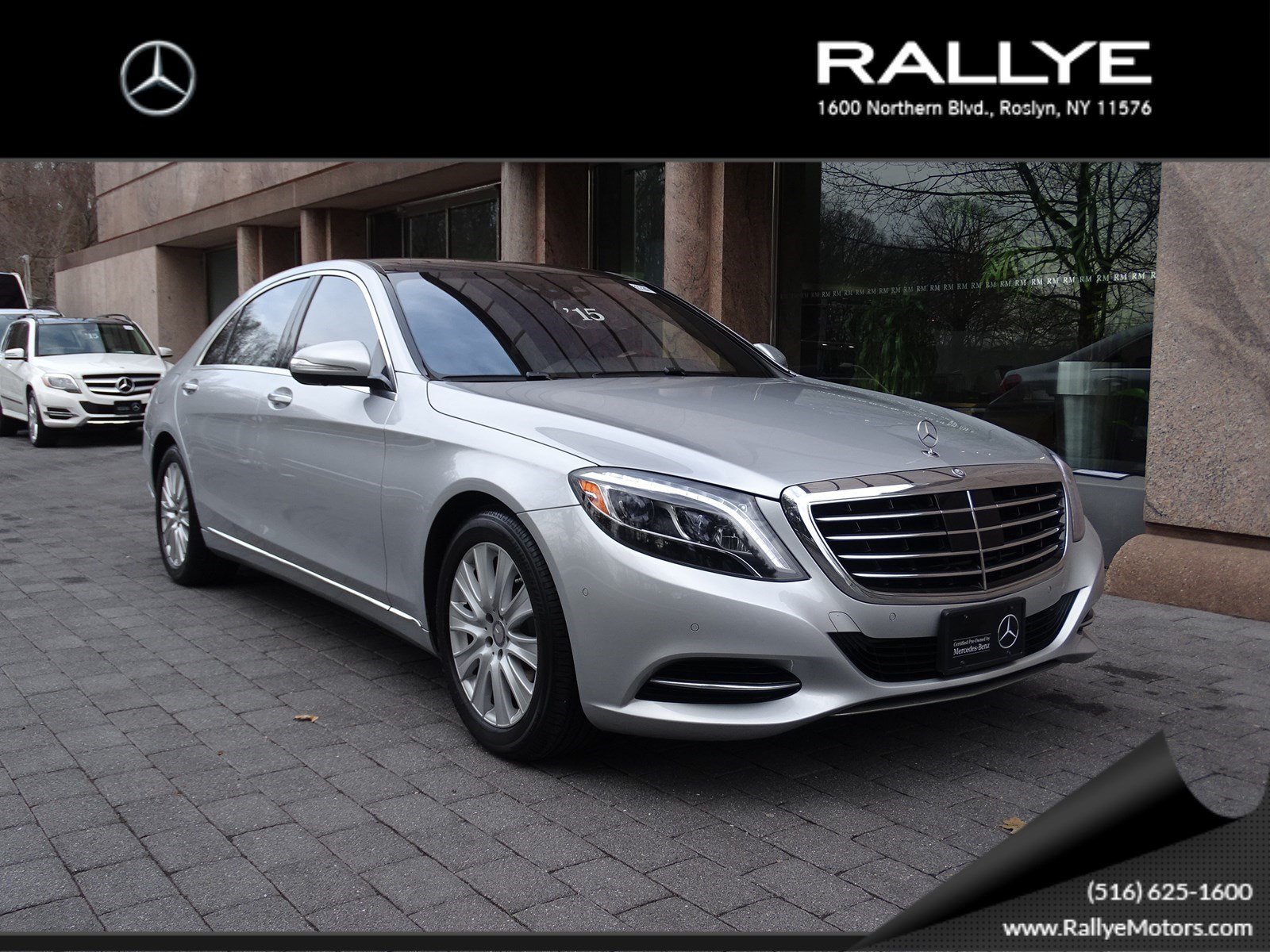 Certified pre owned 2015 mercedes benz s class s 550 sedan for Mercedes benz roslyn