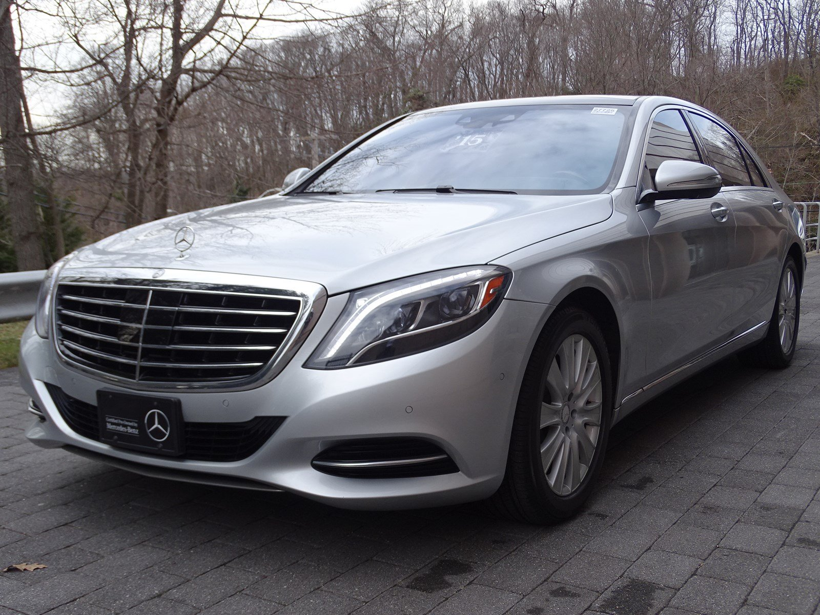 Certified pre owned 2015 mercedes benz s class s 550 sedan for Pre owned mercedes benz s class
